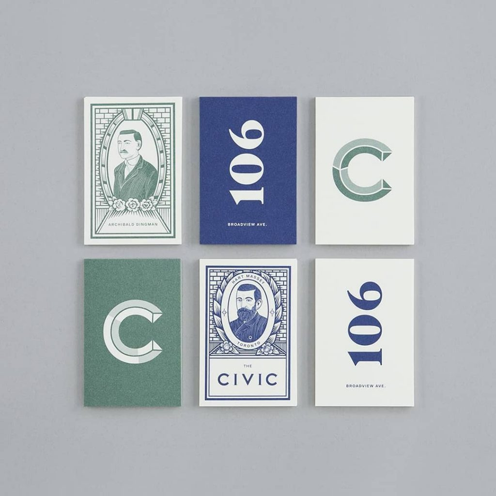 - 59330353 399930260606081 2651537025186376291 n 1024x1024 - Blok serves up a sophisticated identity for The Civic that nods to Toronto's past by @blokdesignFollow @design.pickfor…