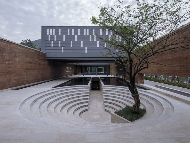 - 873c8ef2899eac6b78194b9dd4751227 niPFx2 - Nov 1, 2017 – Completed in 2017 in Jingdezheng, China. Images by Sun Haiting. Tradition and inheritance Sanbao Art Museu…