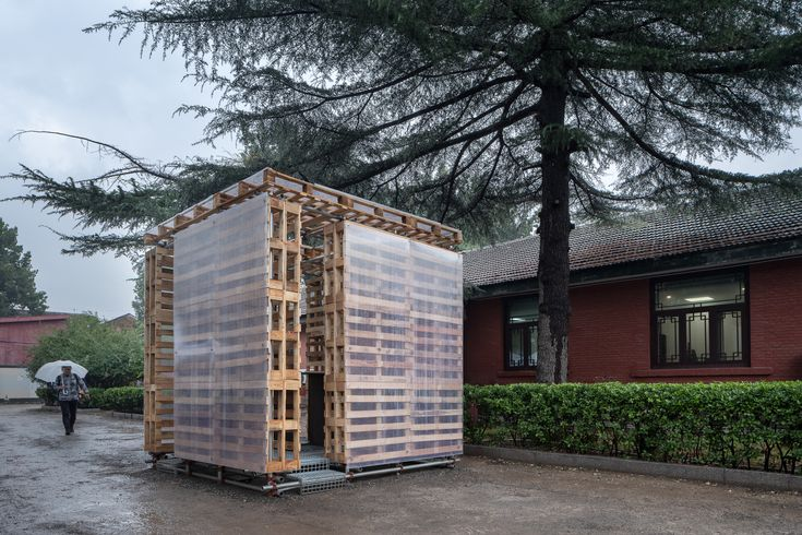 - 99baa85487ef54290141f3d008821822 N93rmx - Completed in 2020 in Beijing, China. Images by Bo Lv. This is a space prototype with basic living scale – 3 m×3 m×3 m cu…